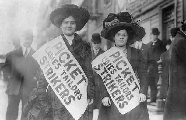 Ladies Strikers in the US
