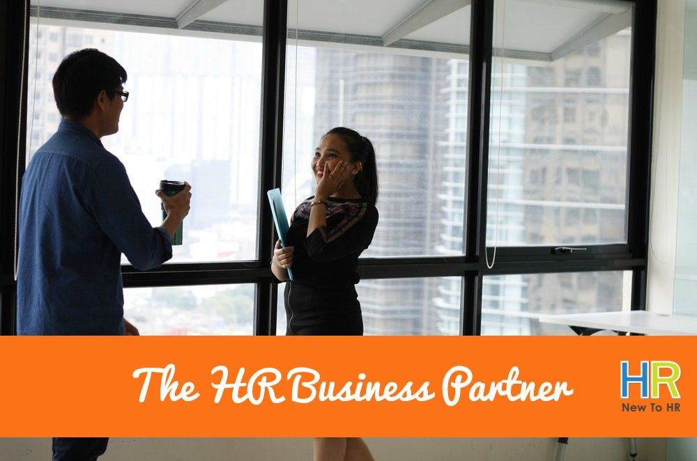 The HR Business Partner. #NewToHR
