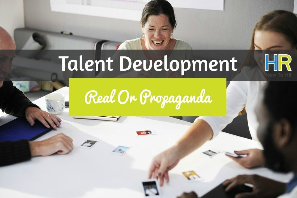 Talent Development. #NewToHR