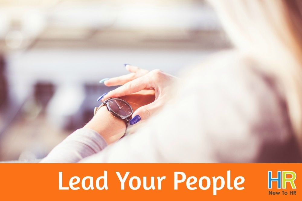 Lead Your People. #NewToHR
