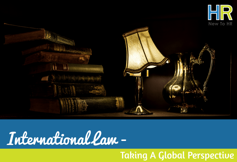 International Law Taking A Global Perspective. #NewToHR