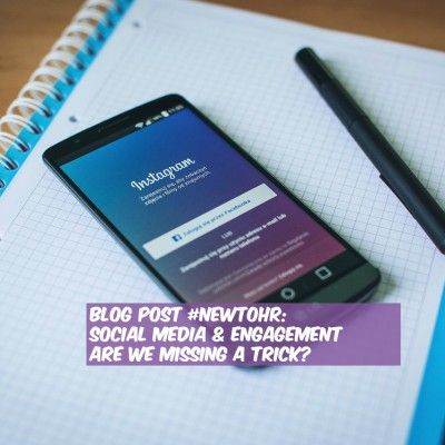 Social Media & Engagement - Are We Missing A Trick by @NewToHR