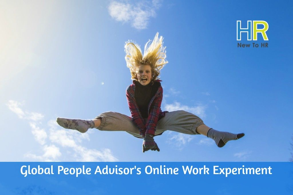 Global People Advisor's Online Work Experiment