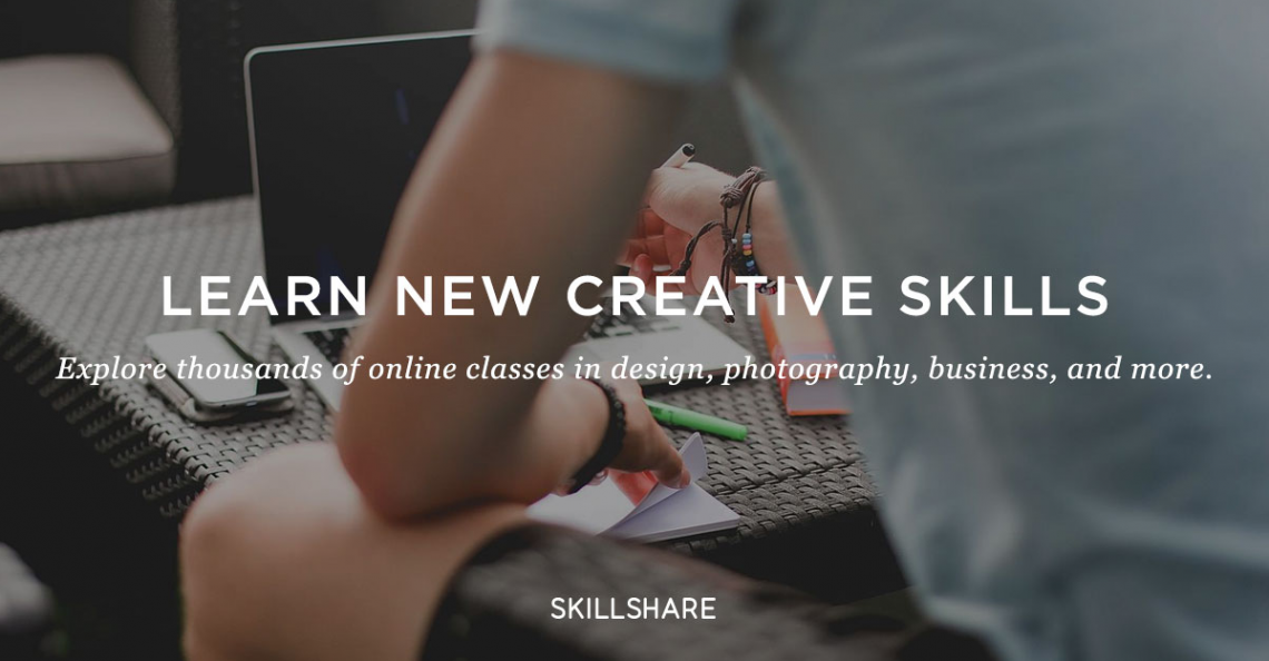 Learn A New Skill Each Day With Skillshare