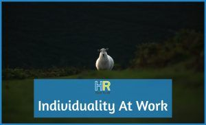 Individuality At Work. #NewToHR