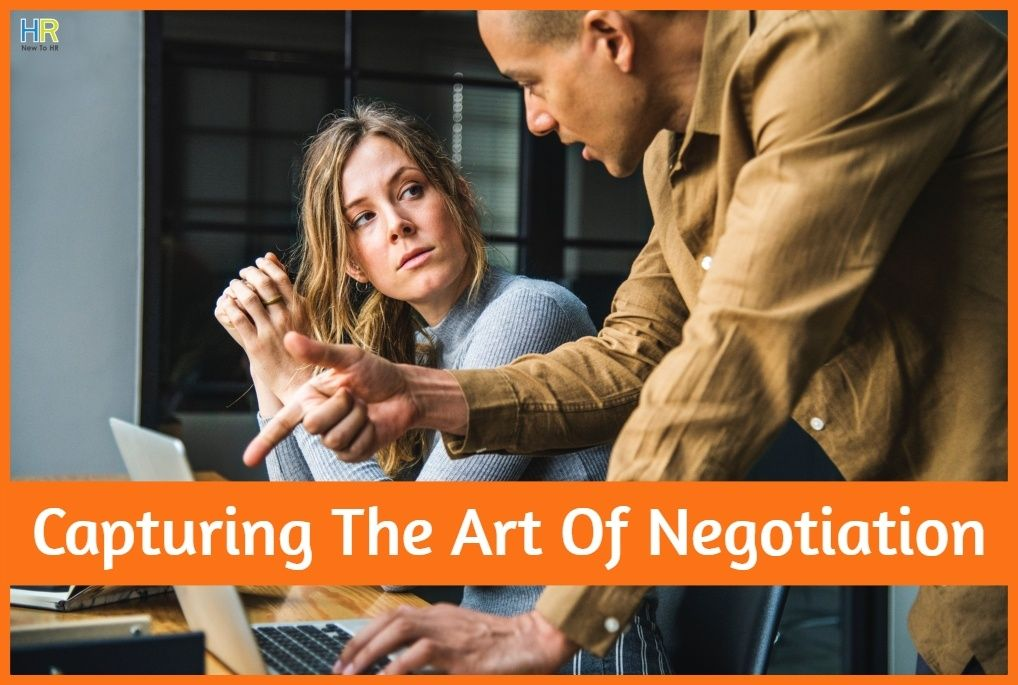 Capturing The Art Of Negotiation by newtohr.com