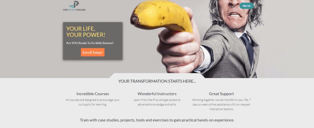 Go Skills Banana - by thepeopleengine.me