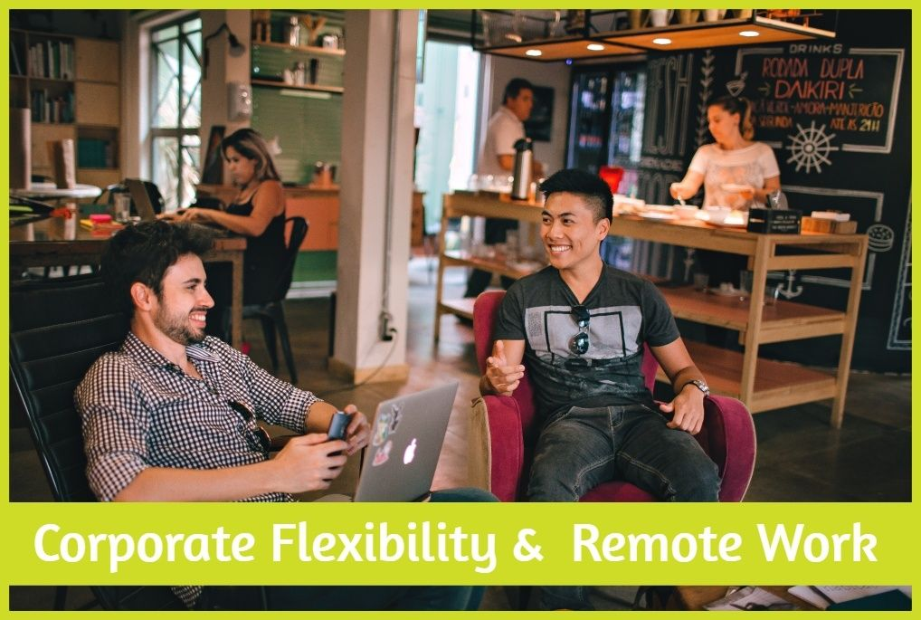 Corporate Flexibility And Remote Work. #NewToHR