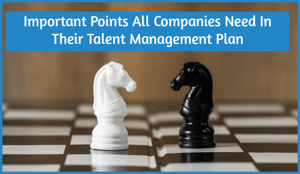 Important Points All Companies Need In Their Talent Management Plan by newtohr.com