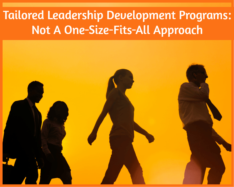 Tailored Leadership Development Programs - not a one size fits all approach by newtohr.com