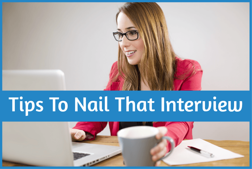 Tips To Nail That Interview by newtohr.com #NewToHR