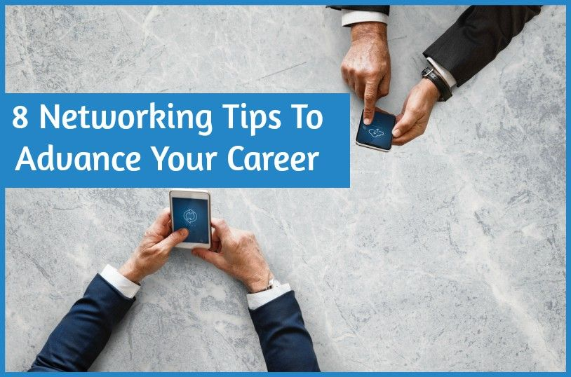 Networking Tips To Advance Your Career by #NewToHR