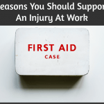 Reasons You Should Support An Injury At Work by #NewToHR