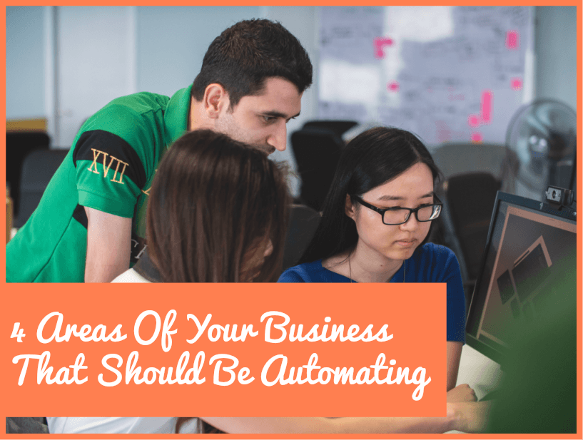 4 Areas Of Your Business That Should Be Automating by newtohr.com