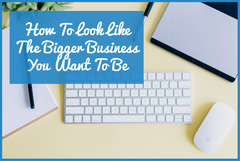 How To Look Like The Bigger Business That You Want To Be by newtohr.com