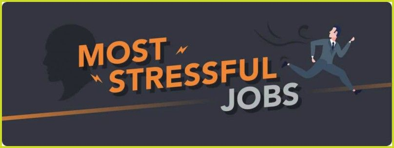 Most Stressful Jobs By #NewToHR