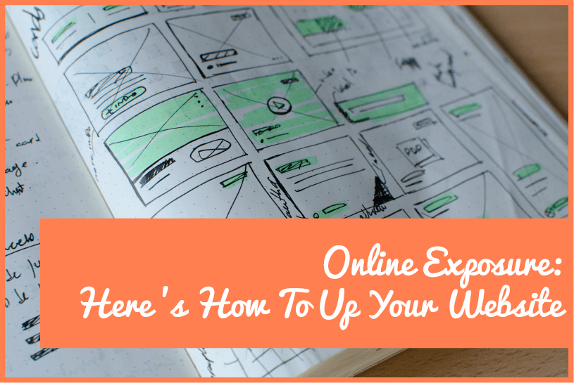 Online Exposure - Here Is How To Up Your Website by #NewToHR