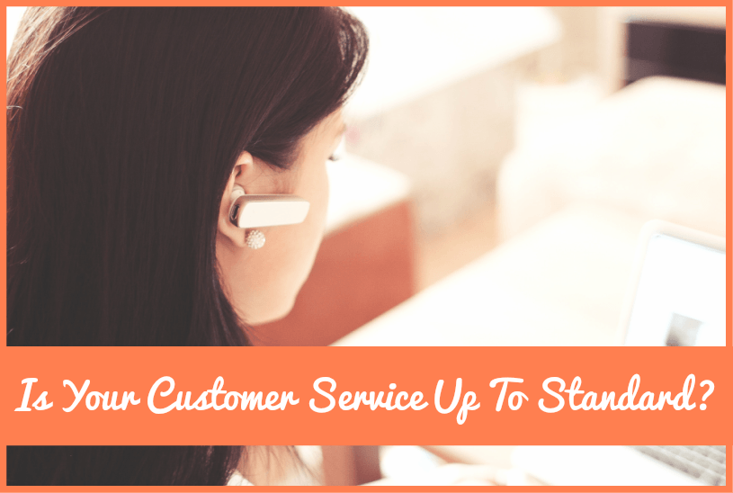 Is Your Customer Service Up To Standard by #NewToHR
