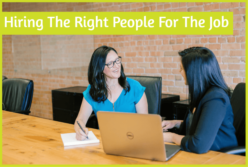 Hiring The Right People For The Job by #NewToHR