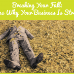 Breaking Your Fall - Reasons Why Business Is Struggling by newtohr.com