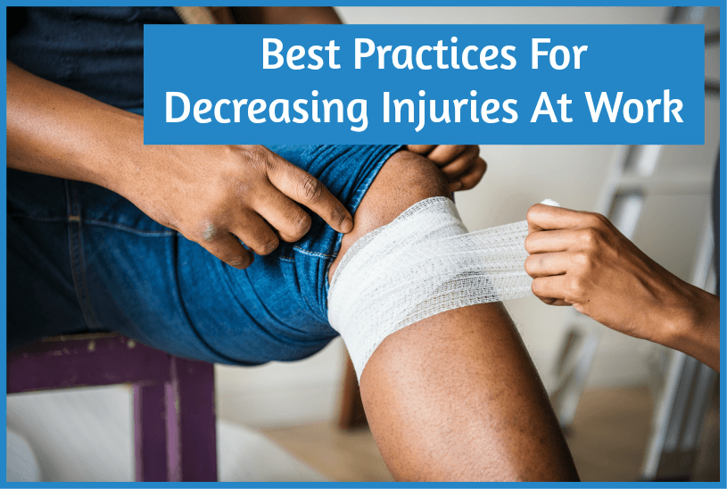 Best Practices For Decreasing Injuries At Work by #NewToHR