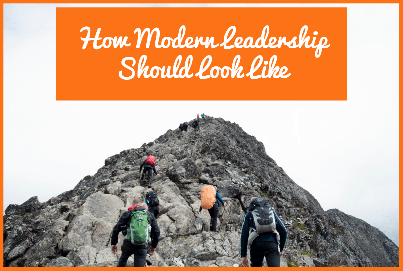 How Modern Leadership Should look like by #NewToHR