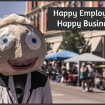 Happy Employees Happy Business by newtohr.com
