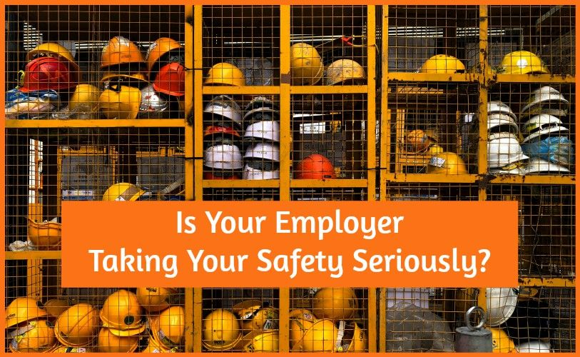 Is Your Employer Taking Your Safety Seriously by #NewToHR