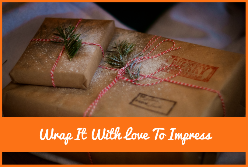 Wrap It With Love To Impress by newtohr.com