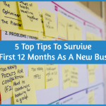 5 Top Tips To Survive Your First 12 Months As A New Business by newtohr.com