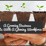 A Growing Business Starts With A Glowing Workplace by newtohr.com