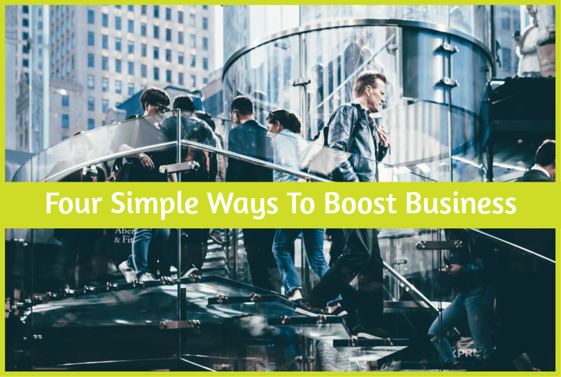 Four Simple Ways To Boost Business by newtohr.com