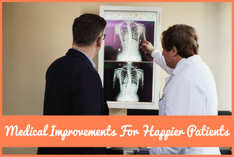 Medical Improvements For Happier Clients by #NewToHR