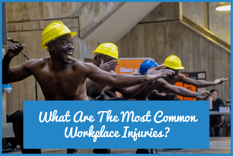 What Are The Most Common Workplace Injuries by newtohr.com
