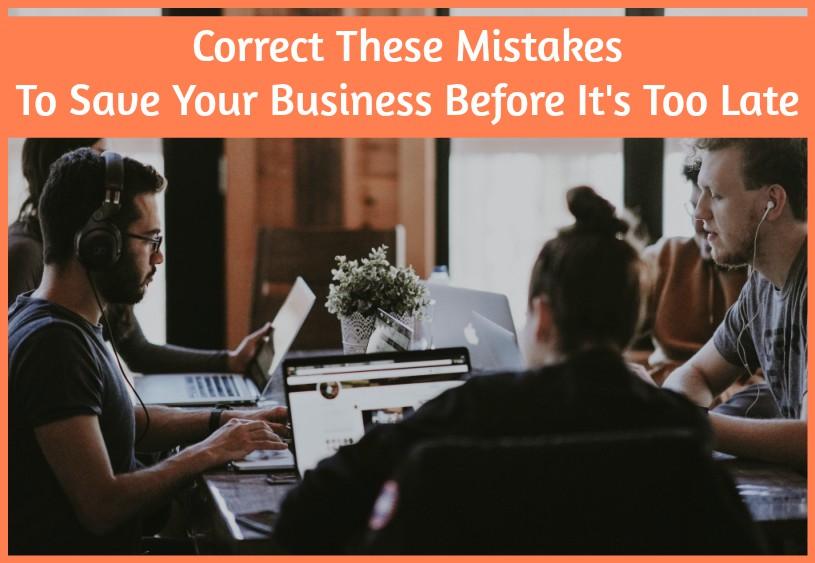 Correct These Mistakes To Save Yo