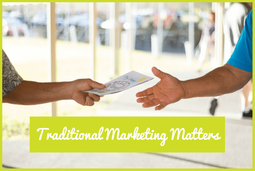Traditional Marketing Matters by newtohr.com