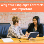 Why Your Employee Contracts Are Important by #NewToHR
