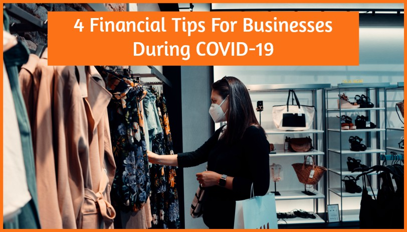 4 Financial Tips For Businesses During COVID-19 by #NewToHR