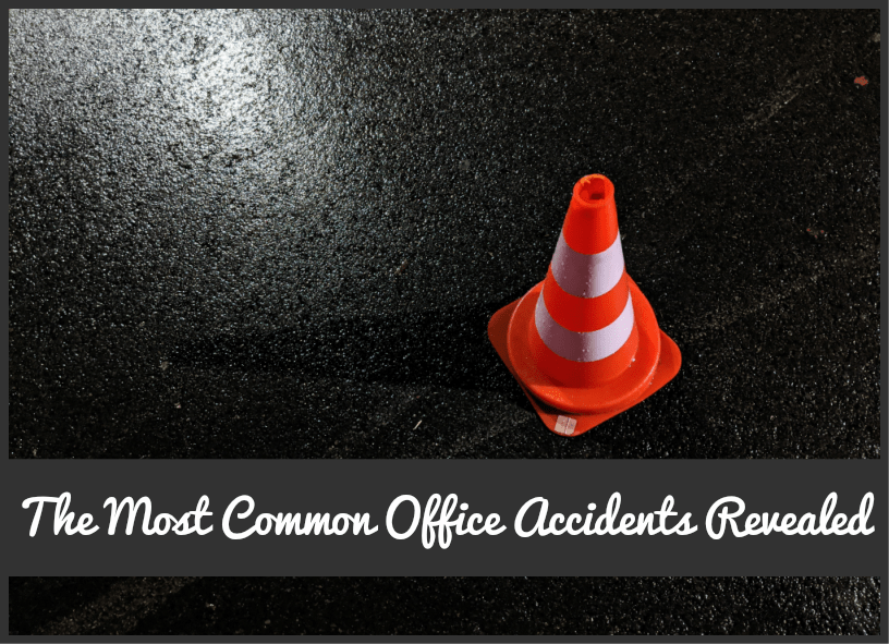The Most Common Office Accidents Revealed by #NewToHR