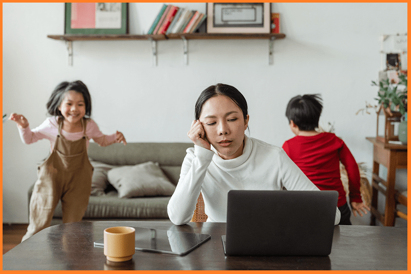5 Ways to Remain Productive When Working From Home With Kids by newtohr
